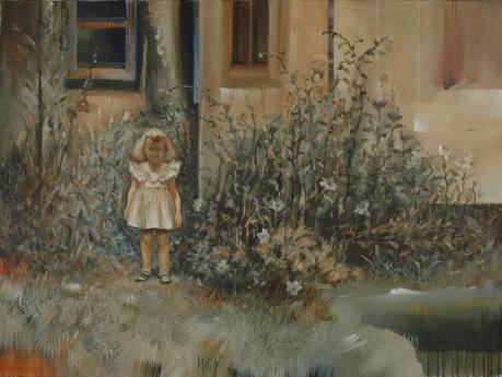 Grandma's Garden_2014_97 x 130 cm_38 1/4 x 51 1/4 in